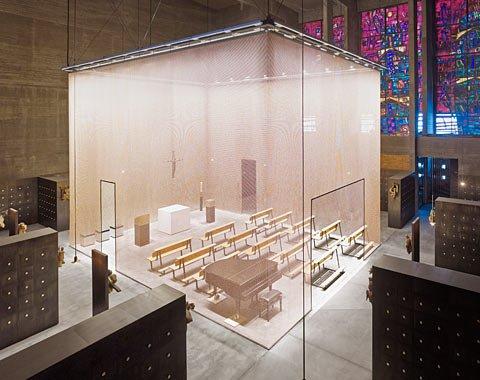 Grabeskirche St. Bartholomäus Köln, Innenraum